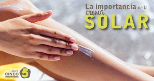 crema solar laser5 Valladolid